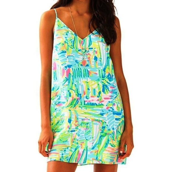 77d56152fde 🌸NEW Lilly Pulitzer Lela Silk Dress Multi